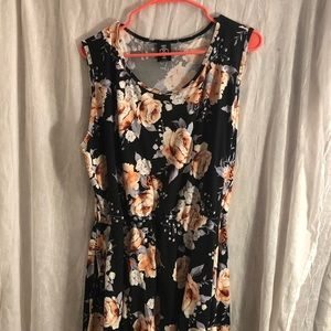 Agnes and Dora brand dress in floral print